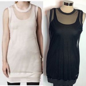 All saints Merrillon tank top tunic top